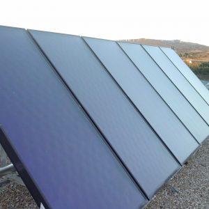 Instalación solar Térmica de Alba Renova