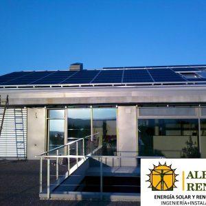 Instalación solar fotovoltaica de Alba Renova