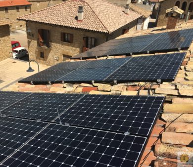Instalación de energía solar fotovoltaica de conexión a red de Alba Renova