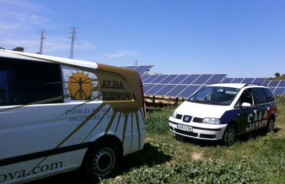 Alba Renova: mantenimiento de instalaciones solares junto a SMA