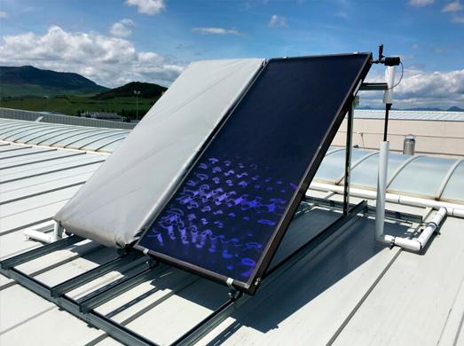 Panel Solar Térmico, Alba Renova