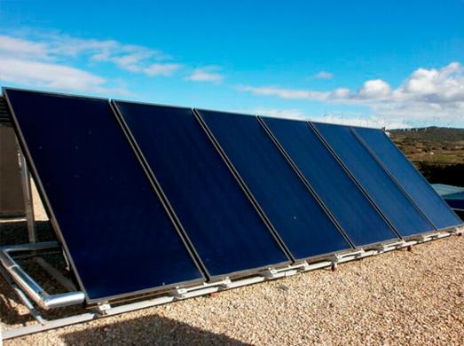 Placa de Energía Solar Térmica de Alba Renova