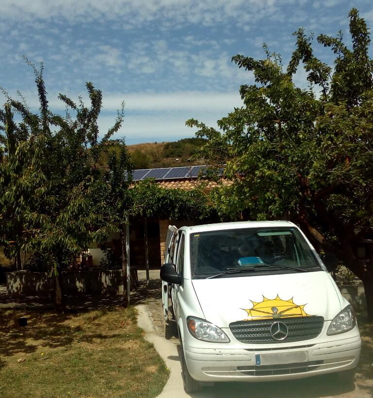 Funcionamiento de instalación solar aislada