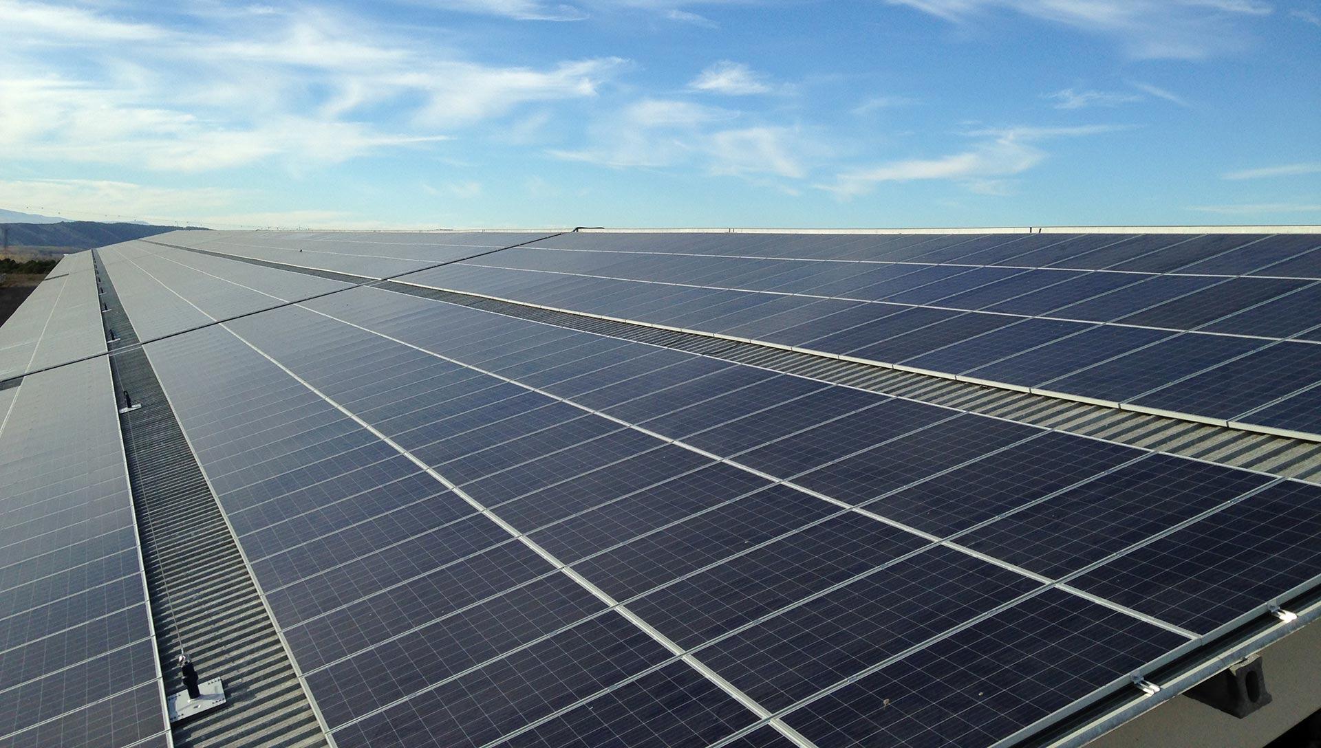 Esquema de una instalación solar térmica